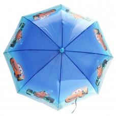 Детский зонтик-трость Тачки синий