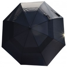 Мужской зонт-трость Bertone черного цвета