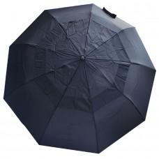 Мужской зонт Bailey черного цвета с клапаном