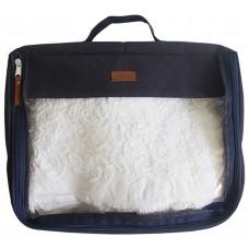 Большая дорожная сумка-органайзер для вещей Индиго