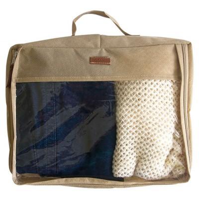 Большая дорожная сумка-органайзер для вещей Стефани бежевого цвета