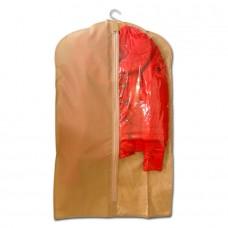 Чехол для одежды бежевый размер 100x60 прямоугольный