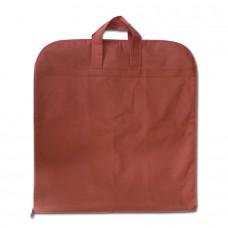 Чехол для одежды с ручками бордовый размер 130x60 прямоугольный