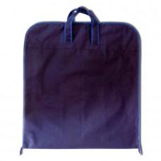 Чехол для одежды с ручками синий размер 130x60 прямоугольный