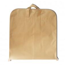 Чехол для одежды с ручками бежевый размер 130x60 прямоугольный
