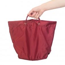 Сумка клатч для шоппинга, трансформер Лейла бордового цвета