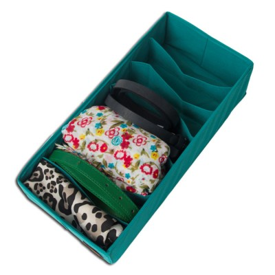 Коробка для носков без крышки Афродита бирюза