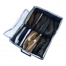 Органайзер для обуви на 6 пар Владлена с крышкой джинс