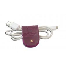 Зажим для зарядных устройств Лиана фиолетовый