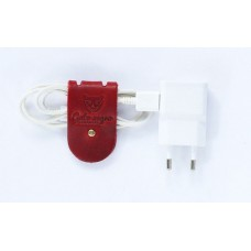 Зажим для зарядных устройств Кателина красный