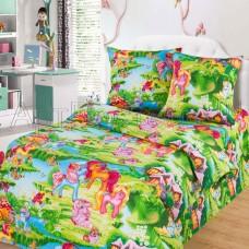 Комплект детского постельного белья Волшебные сны бязь ГОСТ