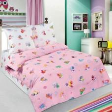Комплект детского постельного белья Бусинка розовый поплин