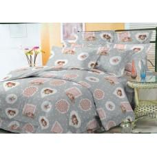 Комплект постельного белья 00184 микросатин все размеры