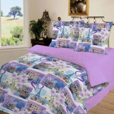 Комплект постельного белья Город любви поплин
