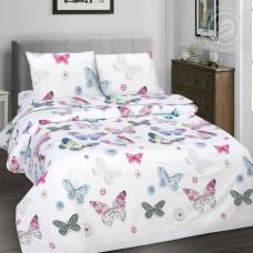 Комплект постельного белья Бабочки поплин
