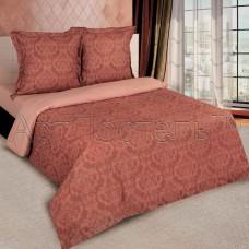 Комплект постельного белья Византия коричневый поплин