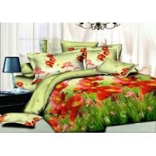 Комплект постельного белья Маковое поле ранфорс