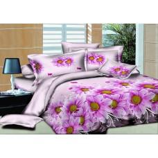 """Комплект постельного белья  """"Пурпурный шлейф"""" ранфорс все размеры"""