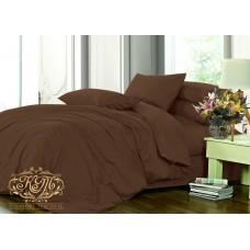 Комплект постельного белья DARK CHOCOLATE сатин люкс