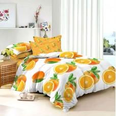 Комплект постельного белья Апельсин сатин
