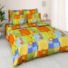 Комплект детского постельного белья Жирафики бязь
