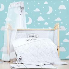 Набор постельного белья в кроватку Енот ранфорс