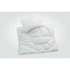 Набор постельного белья Грация (одеяло и подушка) в коляску белый